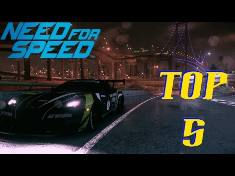 Need For Speed 2015 Top 5 Drift Cars
