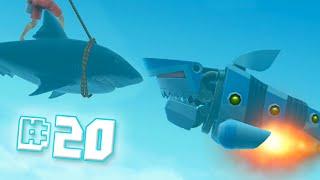 Robot Shark!! || Hungry Shark Evolution - Ep 20
