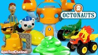 Octonauts Disney Junior Rescue Blaze Wild Wheels from Slime + Kwazii and Blaze and Monster Machines