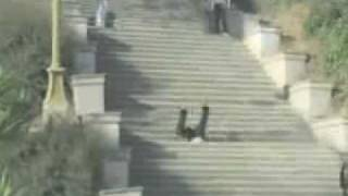 Man Falls Down Stairs Forever