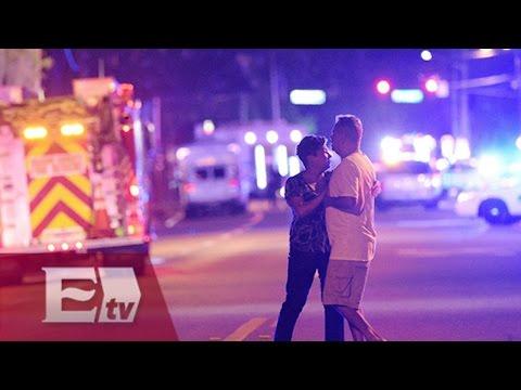 Suman 50 muertos por tiroteo en bar gay en Orlando, EU / Enrique Sánchez