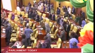MPs had it difficult agreeing to the ration of select committee - 10/1/2017