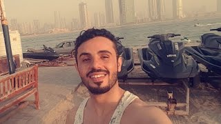 شاهد نجم عرب ايدل عمار العزكي يقوم بتجربة خطرة على البحر