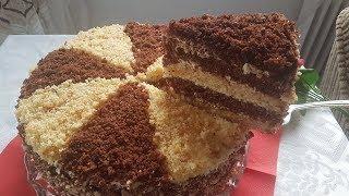 الكيكة الرهيبة التي اذهلت الجميع بنكهة الشوكولا والفانيليا سهلة وسريعه بطعم خرافي. تستحق التجربة😋