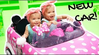 BUYING THE TWINS A NEW TOY CAR (*baller status toy review*)
