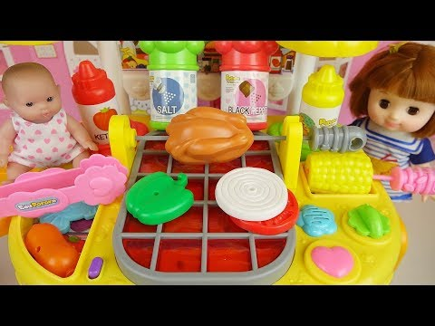 Xxx Mp4 Hamburger Cooking And Baby Doll Kitchen Play House 3gp Sex