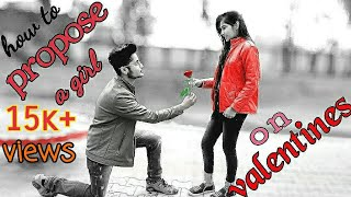 how to propose a girl on Valentine
