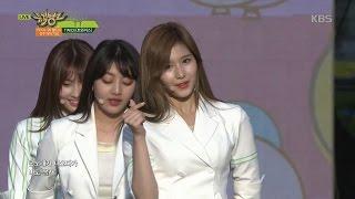 뮤직뱅크 Music Bank - CHEER UP + TT + KNOCK KNOCK - TWICE(트와이스).20170519