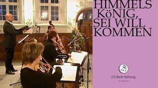 J.S. Bach - Cantata BWV 182 Himmelskönig, sei willkommen   4 Aria (J. S. Bach Foundation)
