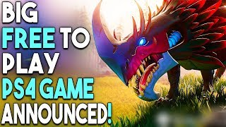 Big Free PS4 Game Announced! PS4 Exclusive Coming Early 2019?!