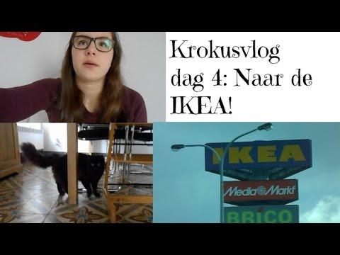 Krokusvlog dag 4: Naar de IKEA