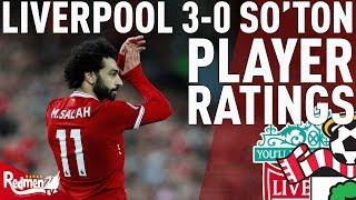 'Salah Gets A 9!' | Liverpool v Southampton 3-0 | Player Ratings