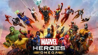 NEW MARVEL HEROES OMEGA MOVIE 2017! - ALL CUTSCENES! - PS4 - THE GAME! - AVENGERS! - FULL STORY!