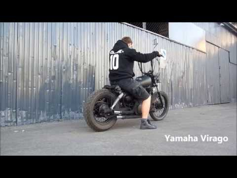 BOBBER Yamaha Virago 125 1998 MUST SEE