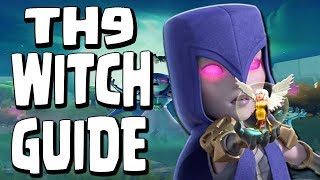 TH9 WITCH SLAP GoWiWi | Complete Witch ATTACK GUIDE | War Clash of Clans