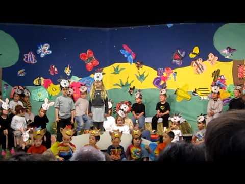 Kindergarten school play part 2   3-12-10.MOV