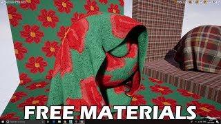 UE4 Materials (Free Download)