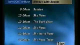 Sky News Sunrise, Monday 18th August 1997