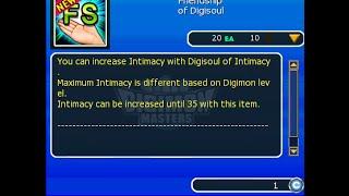 Como isto funciona? Friendship of Digisoul & novo Intimancy. (GDMO)