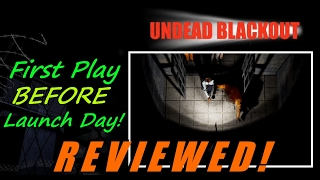 Undead Blackout - First Play Before Launch Day! - Is This New Zombie Shooter Worth Your $ ??