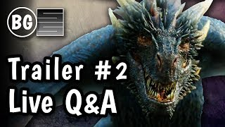 Game of Thrones Season 7 Winter is Here Trailer #2 - Q&A feat. SmokeScreen