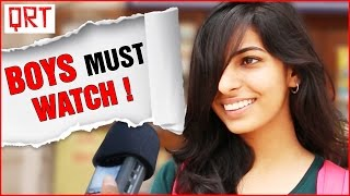 What Puts GIRLS Off in a Man   Boys MUST WATCH   Quick Reaction Team   Funny Video
