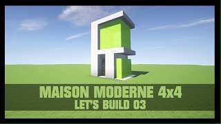 Minecraft Let S Tuto Maison Ultra Moderne 1 Part 1 Playithub