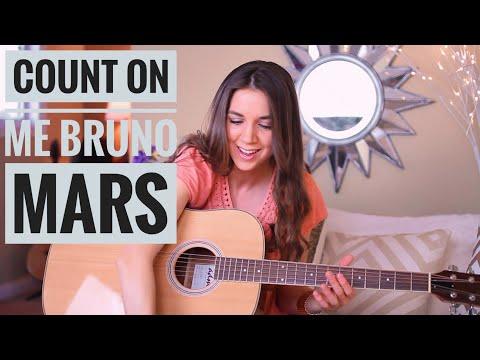 Count On Me - Bruno Mars  Guitar Tutorial (Picking & Strumming)