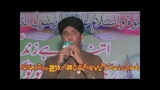 Zain Attari 20 12  2015 Mehfilenaat jakababad  Al Meraj Movies Haiderabad Thal # 03017398769