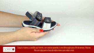 181928 Papete Infantil Klin Sintético Marinho