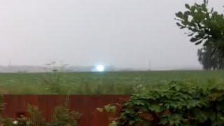 Unique video: Super-rare ball lightning moving across Siberian field