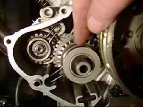 Yamaha Virago Motorcycle Starter Bendix Explanation & Fix Pt 1