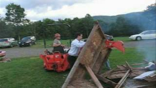 Engagement Party Gone Wild - Tractor Style