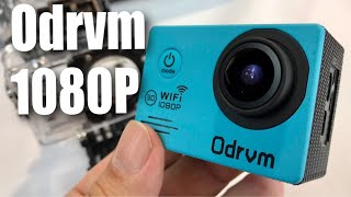 Waterproof HD 1080p 30fps Action Camera by ODRVM review