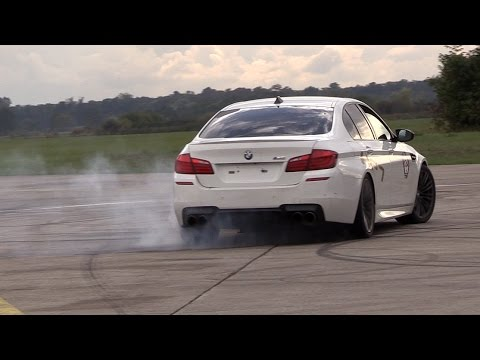 700HP BMW M5 F10 HPT Stage 2+ - Accelerations, Donuts & Drag Racing!