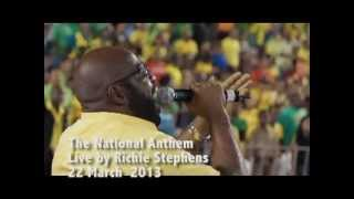 Jamaica National Anthem - Richie Stevens