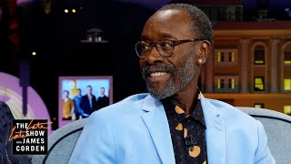 Don Cheadle Eyes an Opponent ala the Bieber-Cruise Fight Challenge