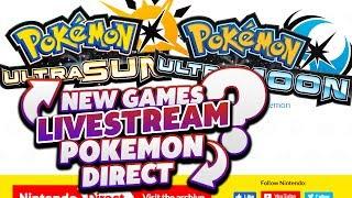 Pokemon Direct 2017 - NEW GAMES POKEMON ULTRA SUN & ULTRA MOON!