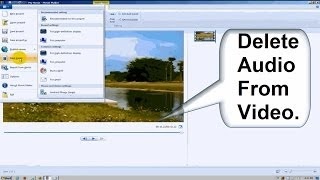 Windows Movie Maker Tutorial Windows 7 - Beginners: How to Remove Sound from a Video