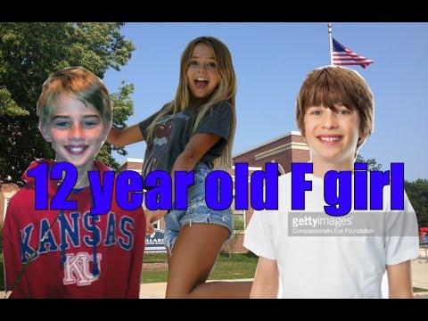 12 year old f-girl