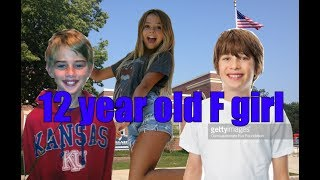 12 year old f-girl