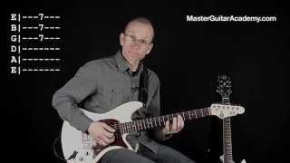 Slow Blues Guitar Lesson - Sakta Ned