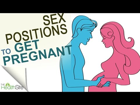 Get pregnant faster with these sex positions