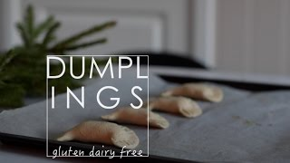 Dumplings Baked in the Oven / GF  DF // #cookingwednesday Christmas Edition 02