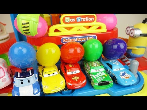 Xxx Mp4 Cars Station And Surprise Eggs Car Toys Play 3gp Sex