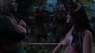 The Witcher 3: Wild Hunt | Nude Succubus - Advanced Alchemy Quest | 1080p 60fps Gameplay