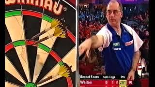 Fitton vs Walton Darts World Championship 2005 Round 2