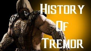 History Of Tremor Mortal Kombat X