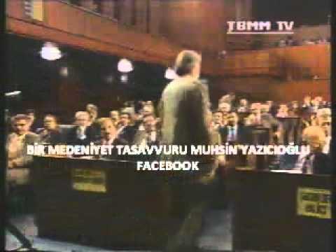 Muhsin Yazıcıoğlu TBMM Konuşması