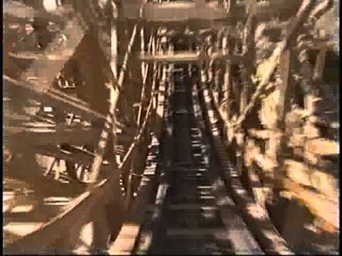 Ghostrider Wooden Roller Coaster Knotts Berry Farm Hbvideos Cooldisneylandvideos